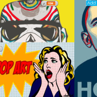 Screenshot of Pop Art Transformations