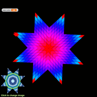 Screenshot of Star Quilt Challenge