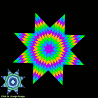 Screenshot of Star Quilt Chall2, Start