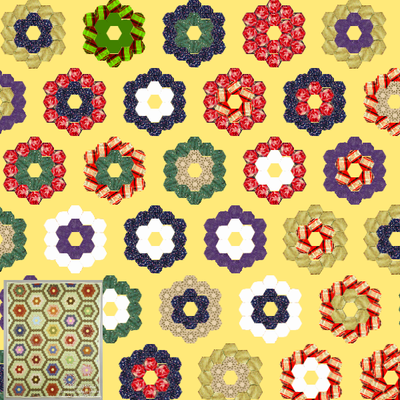 Screenshot of Quilt Garden Loops Tutorial 4