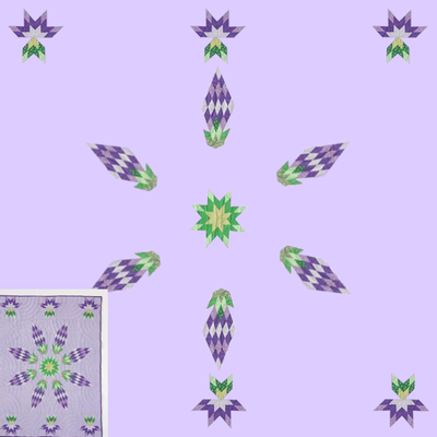 Screenshot of Tulip Quilt Challenge