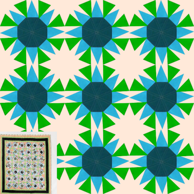 Screenshot of Little Stars Quilt Challenge