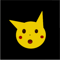 Screenshot of surprised pika