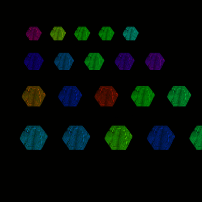 Screenshot of 18 Variables Les 3 Review, HexQuilt 0