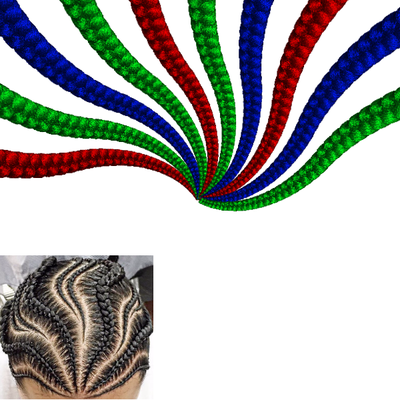 Screenshot of 18 Conditionals 2b Cornrow Set Color, start