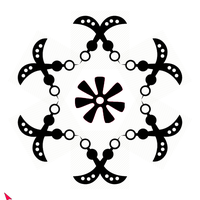 Screenshot of adinkra strwnght pattern