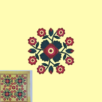 Screenshot of Rose Quilt Challenge
