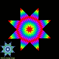 Screenshot of 18 Variables 4Q Star Quilt Start_0
